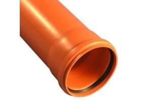 Труба ПВХ наружной канализации 110х3000х3,2 мм
