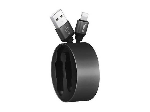 купить бу USB кабель Lightning HOCO-U23 Black (Код товара:13024) в Харкові