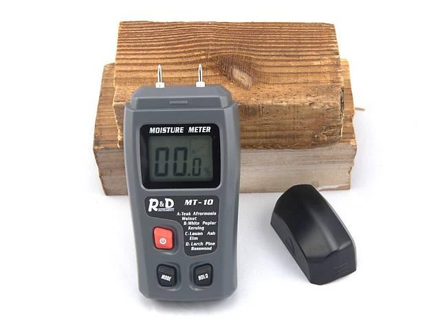 купить бу Влагомер древесины игольчатый CSY01H EMT01 MT-10 (5-99,9%) с 4 режимами для 28 пород древесины в Львове