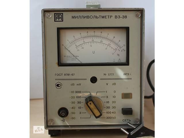 купить бу Вольтметр переменного тока В3-38 в Днепре (Днепропетровск)