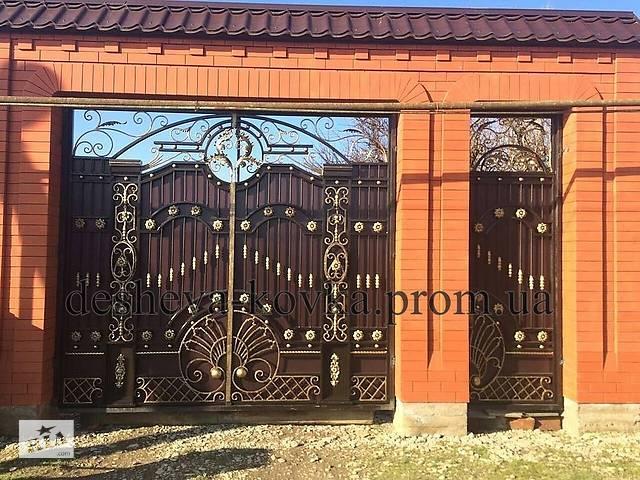 продам Ворота кованые закрытые бу  в Украине