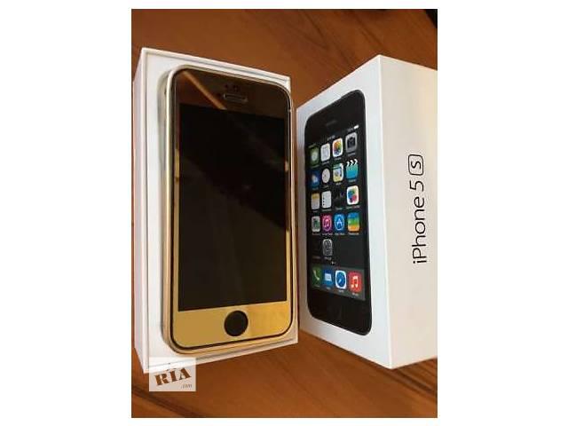 бу iPhone 5s 16Gb Space Gray Neverlock в золоте в Луганске