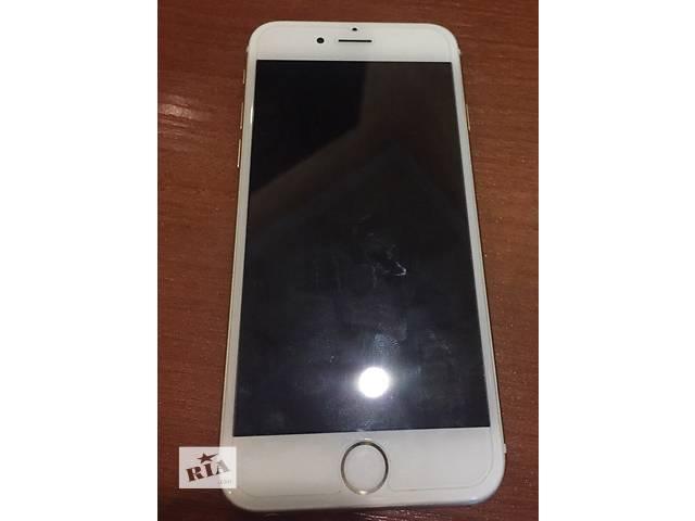 купить бу iPhone 6 gold neverlock  в Киеве
