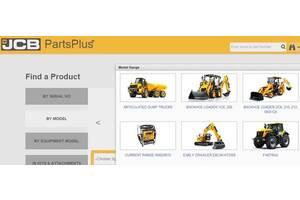 JCB Parts Plus - установка каталогу оригінальних запчастин JCB!