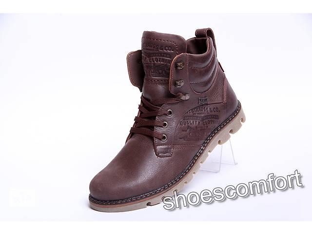 продам Якісні зимові шкіряні чоловічі черевики Levis Б 25-04 бу в  Вознесенську 93fa722af1a24