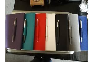 Блокнот с петлей для ручки