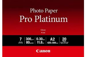 Фотобумага Canon A2 Pro Platinum Photo Paper PT-101 A2 20л (2768B067)