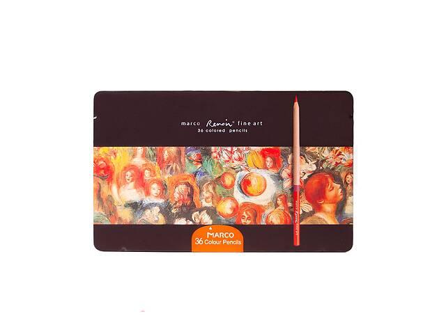 купить бу Карандаши цветные Marco Renoir Fine Art 36 цветов в Черновцах