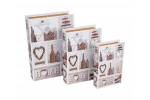 Книга - шкатулка Home из 3 шт SKL11-208290