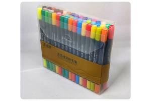 Набор двусторонних маркеров STA AQUARELLE Brush 3110 – 48 цветов