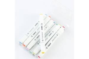 Набор скетч маркеров TouchNew (TouchFive) 12 шт Promarker Copic Marker