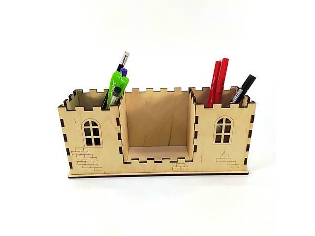 Органайзер Замок Мастерская мистера Томаса 8см х 24см х 10см Фанера 4 мм- объявление о продаже  в Виннице