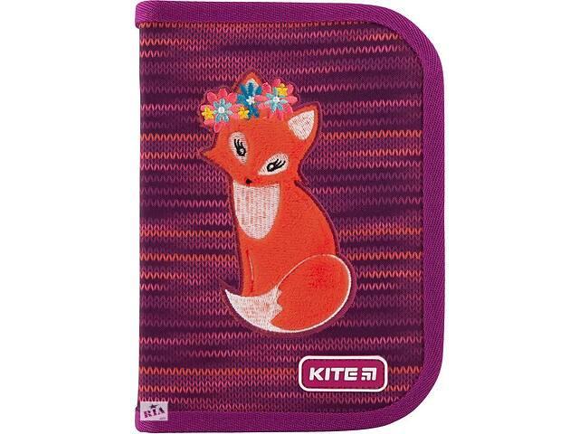 продам Пенал Kite Education Fox фиолетовый бу в Киеве
