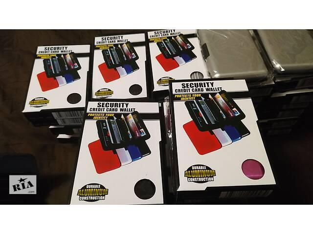 Визитница цветная на 40 визиток 11*7,5*2см - объявление о продаже  в Василькове