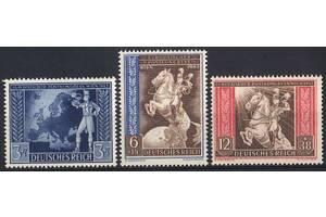 1942 - Рейх - Почтовый конгресс Mi.820-22 **
