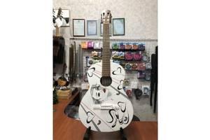 (3911) Уникальная Гитара с Росписью Renome