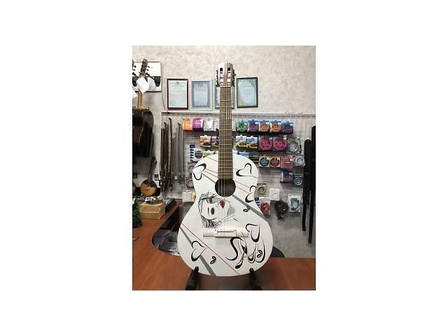 купить бу (3911) Уникальная Гитара с Росписью Renome в Киеве