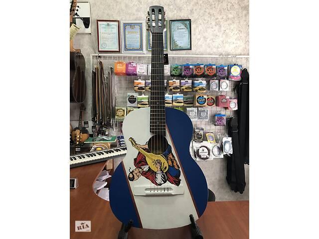 продам (4233) Гітара Класична з Патріотичної Росписью& laquo; Козак& raquo; бу в Киеве