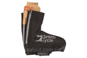 Бахилы Green Cycle NC-2619-2015, Чёрный (M)