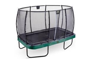 Батут  Прямоугольный Exit Toys Elegant Premium 244х427 см Green