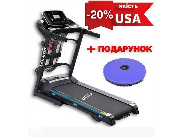 продам Беговая дорожка USA T350M King Sport + масаж + Подарок! бу в Днепре (Днепропетровск)