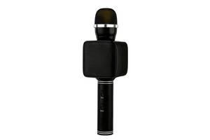 Беспроводной караоке микрофон с колонкой Magic Karaoke YS-68 Вокальный с мембраной низких частот Black  (47471-IM)