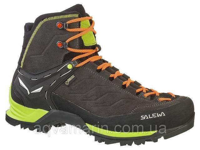 Ботинки Salewa MS MTN Trainer Mid GTX, Чёрно-зелёный (43)- объявление о продаже  в Днепре (Днепропетровск)