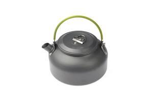 Чайник туристичний для пальника 0.8 л Kronos DS-08 Темно-сірий (gr_016911)