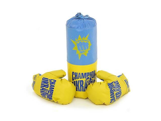 бу Детский боксерский набор подвесной груша и перчатки Danko Toys БОЛ Украина. Спортивные подарки для детей в Киеве