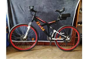 Електро велосипед гірський із переднім мотор-колесом