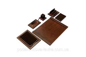 Элитный настольный набор для руководителя V.I.P. MARRON 760007 70*50 см коричневый