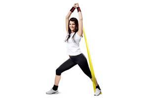 Эспандер лента для фитнеса пилатеса