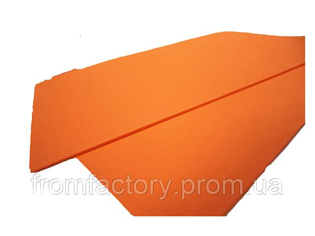 купить бу Фоамиран матовый (разные цвета) 2мм/20х30см:Морковный в Харькове