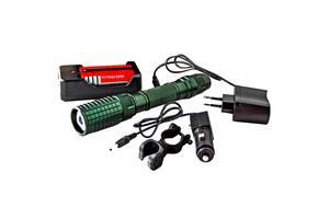 Мощный фонарь для велосипеда с аккумулятором Rablex 2804 вело фонарик велосипедный велофонарь
