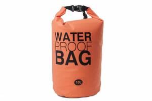 Гермомішок Weatro Waterproor bag 10L Помаранчевий (8-4062)