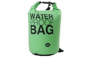 Гермомішок Weatro Waterproor bag 20L Зелений (8-4055-3)