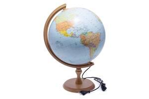 Глобус с подсветкой 320 политико-физический (украинский) 540213