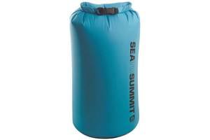 Блакитний гермочехол на 20 літрів Sea To Summit Light Weight Dry Sack, 25х61 см