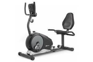 Горизонтальный велотренажер магнитный HS-040L Root model 2020 Черно-серебристый
