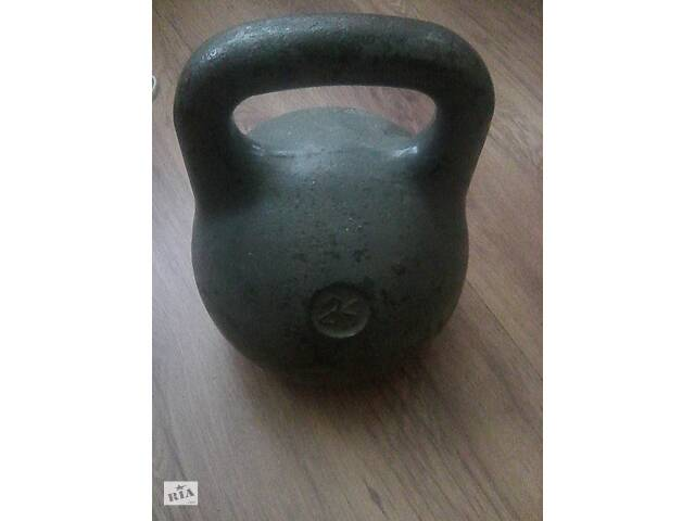купить бу Гиря 24 кг Радянського виробництва (СРСР) в Шепетівці