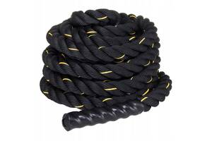 Канат для кроссфита Springos Battle Rope 9 м FA0104