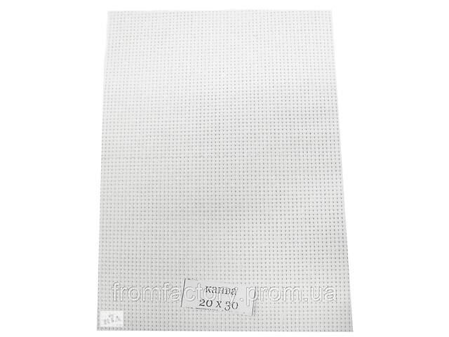 продам Канва вышивальная (разные цвета, 30х40, каунт 11):Белая бу в Харкові