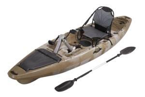Каяк для риболовлі з педальним приводом СІБАС Грейс #Камуфляж