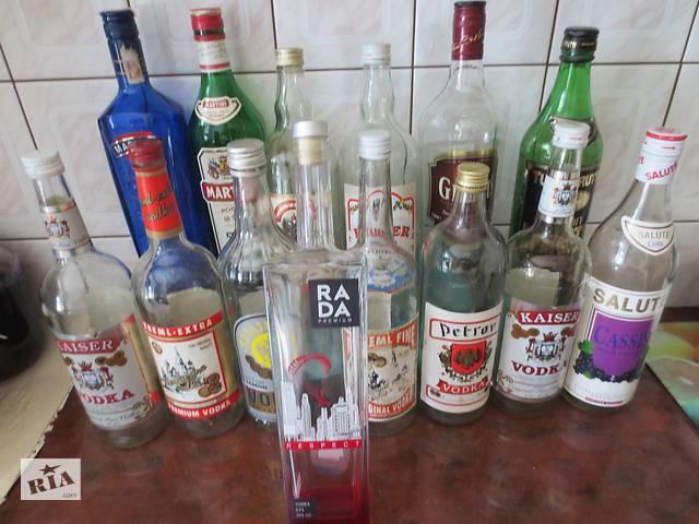 продам Коллекционные бутылки из под ликероводочных напитков и коньяков бу в Тернополе