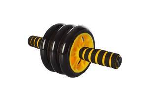 Колесо для мышц пресса Ms 0873 yellow