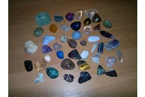 Коллекция натуральных полудрагоценных камней