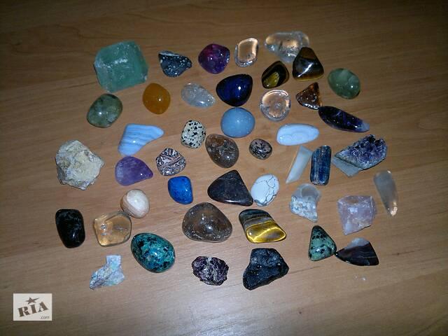продам Колекція натуральних напівдорогоцінного каміння бу в Києві