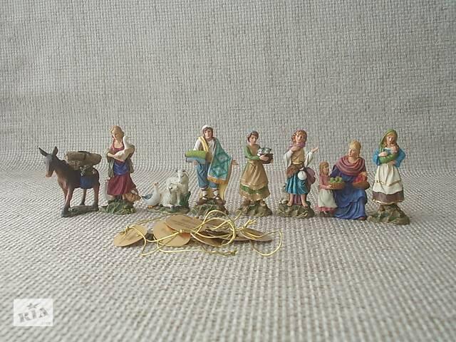 купить бу №519 Коллекция Рождество Христово 2006 8 фигурок см. описание в Запорожье