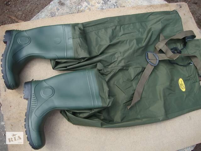 купить бу Комбінезон забродный вейдерсы для рибалки Lemigo модель 997 в Нововолинську