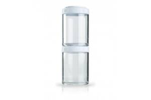 Контейнер спортивний BlenderBottle GoStak 2 Pak White Original SKL24-277235